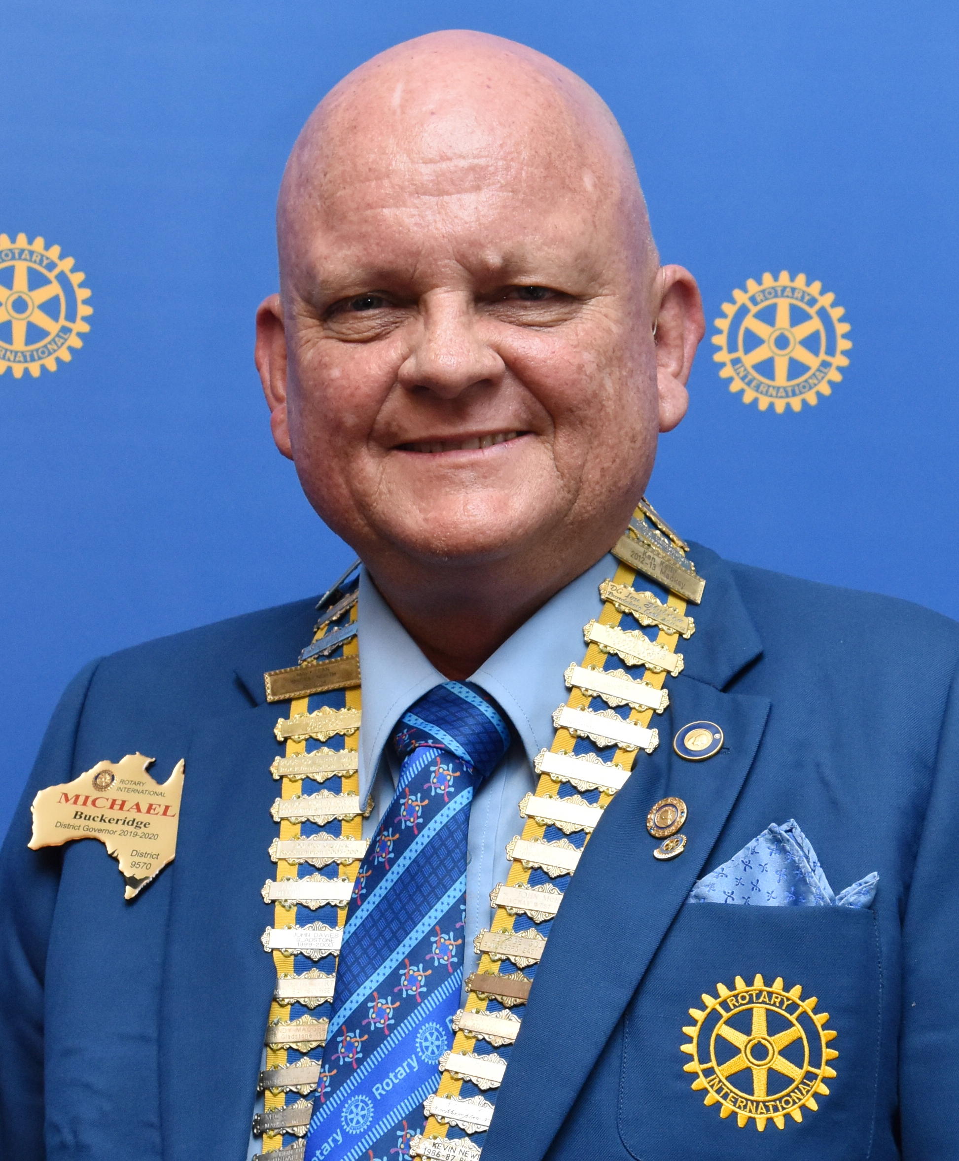 Michael Buckeridge (Immediate Past District Governor)